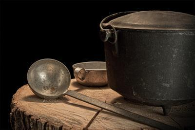 Dutch Oven and Ladle by C. McNemar