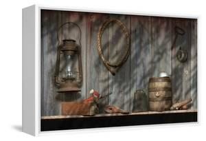 Out in the Barn II by C. McNemar