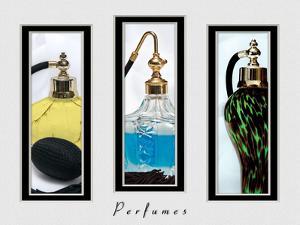 Perfume Triptych III by C. McNemar