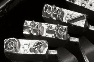 Typewriter Symbols Sq by C. McNemar