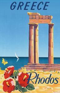 Greece - Rhodes - Monte Smith - Temple of Apollo (Acropolis of Rhodes) by C^ Neuria