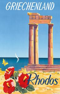 Rhodos: Griechenland, Greece c.1954 by C^ Neuria