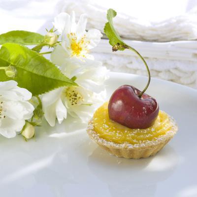 Cherry Lemon Tartlets