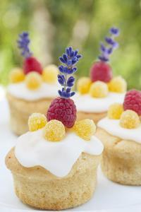 Jelly - Muffins with Raspberry and Lavender by C. Nidhoff-Lang