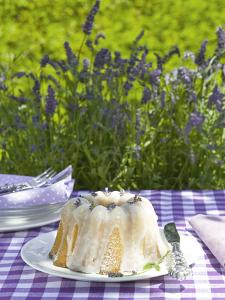 Lemon Gugelhupf with Lavender by C. Nidhoff-Lang