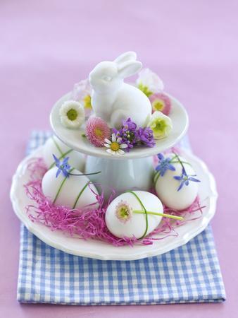 Rabbit ƒtagre, Blossoms, Easter Eggs