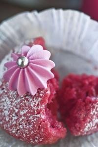Red Cupcake, Detail by C. Nidhoff-Lang