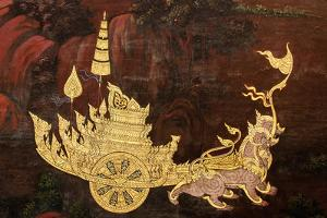 Art Thai Painting by c photo