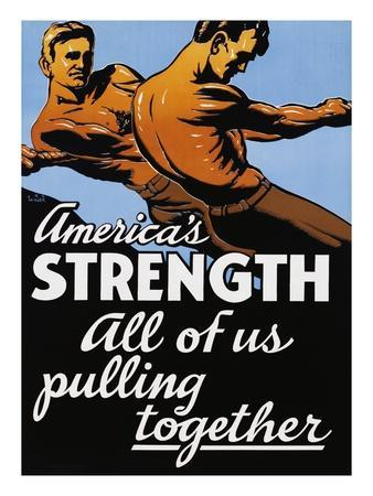 America's Strength, All of Us Pulling Together