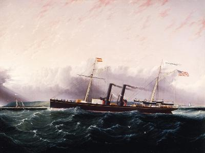 C.S.S. Chickamauga Ca. 1860-1880-James Edward Buttersworth-Giclee Print