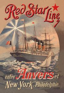 Red Star Cruise Line: Antwerp, New York, and Philadelphia by C. Satzmann