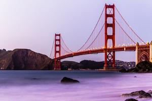 Golden Gate Bridge - View from Marshall Beach by (c) Swapan Jha