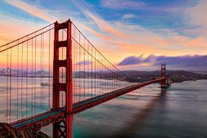 Golden Gate Sunset by (c) Swapan Jha