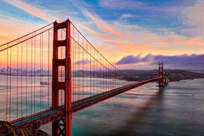 Golden Gate Sunset by (c) Swapan Jha