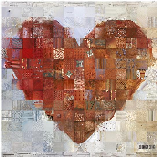 Cœur à vif-ARY KP-Art Print