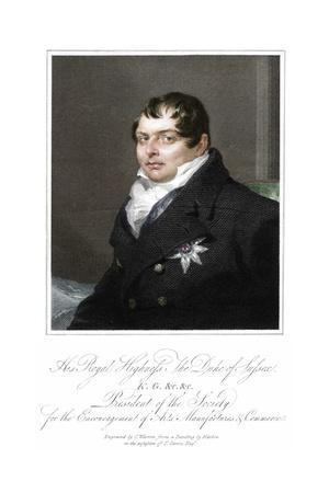 'His Royal Highness the Duke of Sussex', 19th century