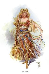 Ripe Corn, 1899 by C Wilhelm