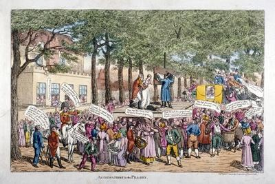 Anticipations for the Pillory, 1813