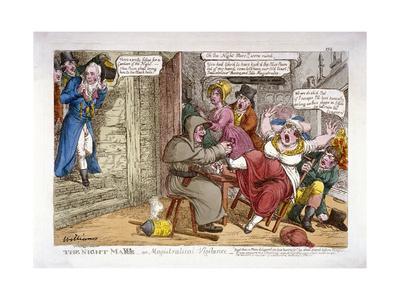 The Night Mayor - or Magistratical Vigilance, 1816