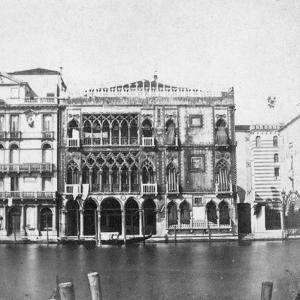 Ca D'Oro, Venice, Italy, Late 19th or Early 20th Century