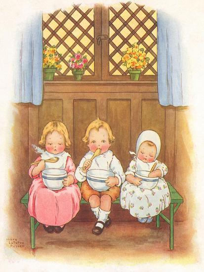 CA Fairy 42-Vintage Apple Collection-Giclee Print
