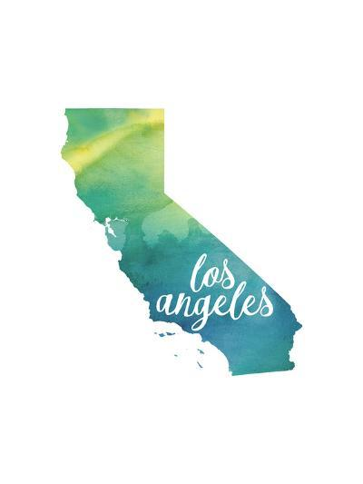 CA Los Angeles-Paperfinch-Art Print