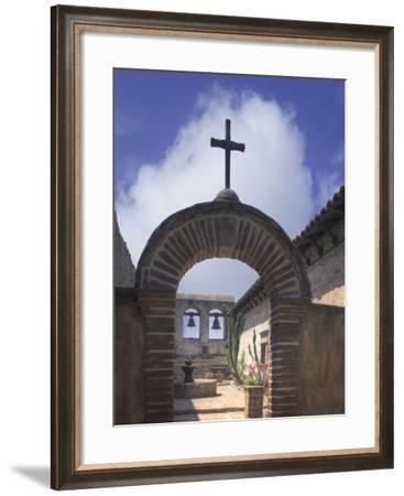 CA Missions 2-Robert Hansen-Framed Premium Photographic Print