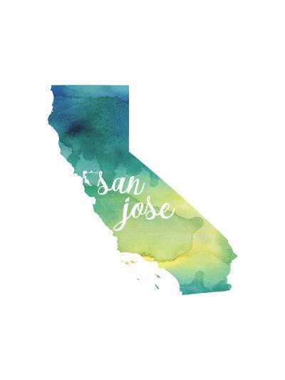 CA San Jose-Paperfinch-Art Print