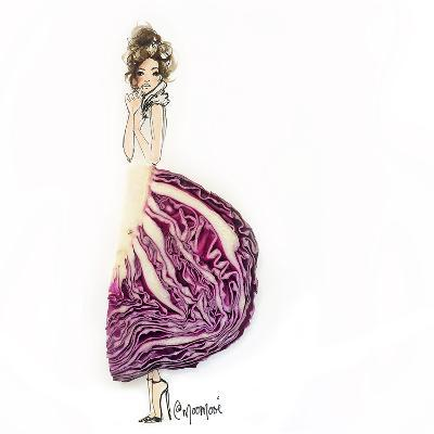 Cab Bage Chic-Meredith Wing-Art Print