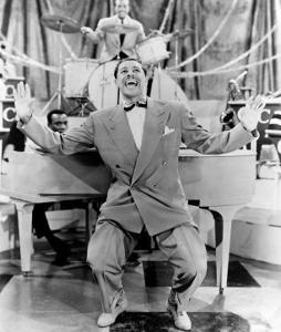 Cab Calloway, Flamboyant African America Bandleader and Singer with His Orchestra, 1957