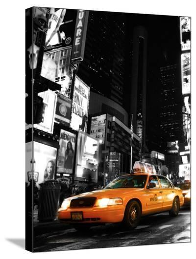 Cab NYC-Dale MacMillan-Stretched Canvas Print