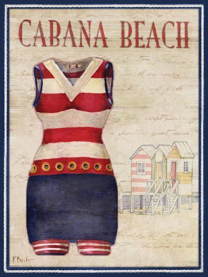 Cabana Beach-Paul Brent-Art Print