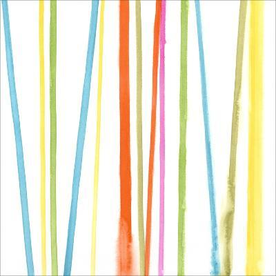 Cabana Stripes II-Erica J^ Vess-Art Print