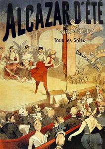 Cabaret Alcazar D Ete Au Champs Elysees
