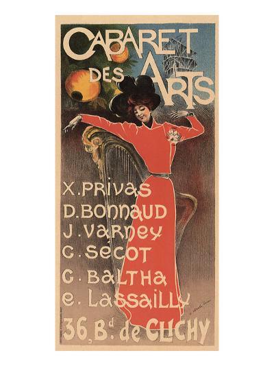 Cabaret Des Arts, c.1898-Charles Lucas-Giclee Print