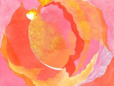 Cabbage Rose I-Carolyn Roth-Art Print