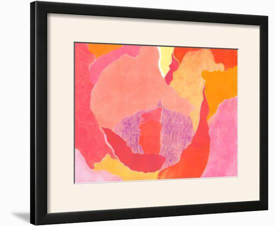 Cabbage Rose IV-Carolyn Roth-Framed Photographic Print