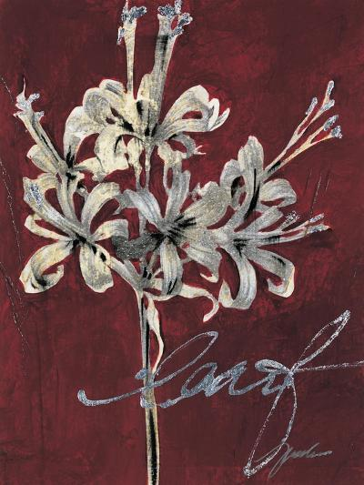 Cabernet Blossoms I-Liz Jardine-Art Print
