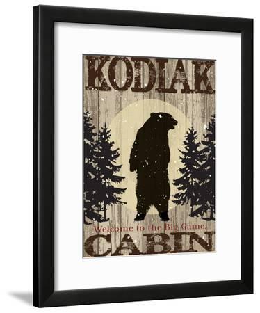 Cabin 1-Melody Hogan-Framed Art Print