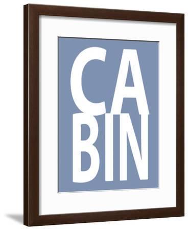 Cabin Blue-Jamie MacDowell-Framed Giclee Print