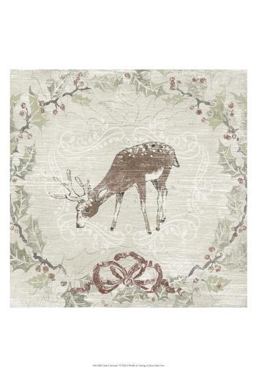 Cabin Christmas VI-June Erica Vess-Art Print