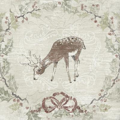 Cabin Christmas VI-June Vess-Art Print