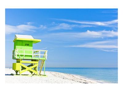 Cabin Miami Beach Florida--Art Print