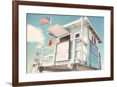 Cabin-Natasia Cook-Framed Art Print