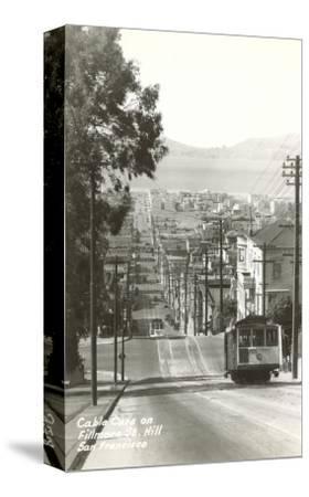 Cable Cars, Fillmore Street, San Francisco, California