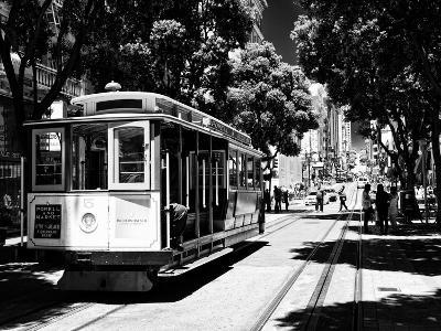 Cable Cars - Streets - Downtown - San Francisco - Californie - United States-Philippe Hugonnard-Photographic Print