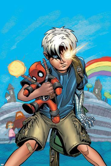 Cable/Deadpool No.18 Cover: Cable-Patrick Zircher-Art Print