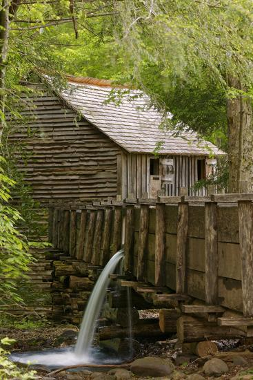 Cable Mill, Cades Cove, Great Smoky Mountains National Park, Tennessee-Adam Jones-Photographic Print