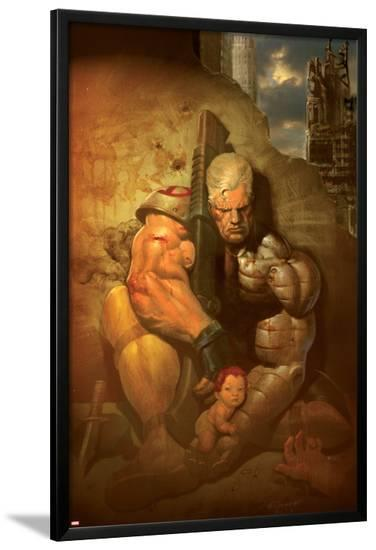 Cable No.3 Cover: Cable--Lamina Framed Poster