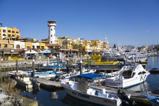 Cabo San Lucas Marina, Baja California, Mexico, North America-Peter Groenendijk-Photographic Print
